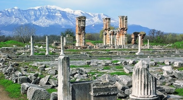 Archeological Site at Philippi
