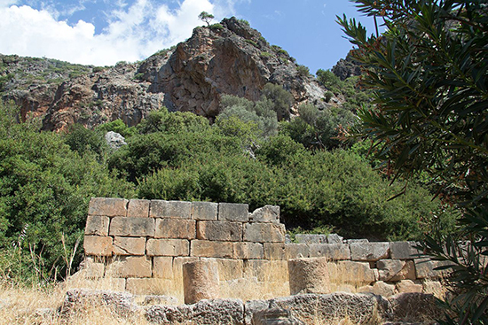 Crete – Temple of Asclepius